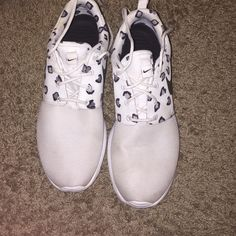 Cheetah roshes Super cute matches alot of clothes Nike Shoes Athletic Shoes