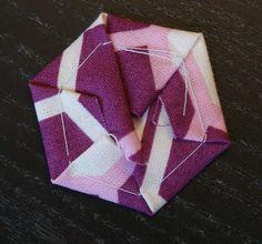 andie johnson sews: Hexie English Paper Piecing Tutorial