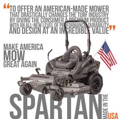 SPARTAN - American made with American Steel - http://sleequipment.com/news/spartan-american-made-with-american-steel/