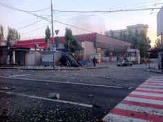 Beschuss in Donezk!