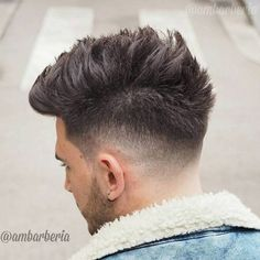 Fade With Spiky Top