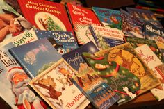 Christmas Book Advent Calendar - List of great books to read each day!