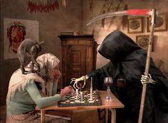 z- by Epsilon Delta Photography - Chess w Death