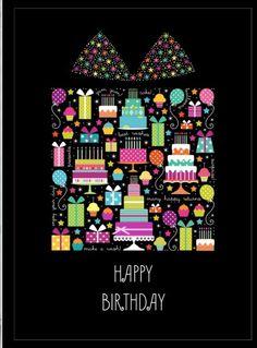 Happy Birthday Notes, Happy Birthday Wishes Quotes, Birthday Wishes And Images, Birthday Posts, Art Birthday, Happy Birthday Greetings, 1st Birthday Girls, Birthday Quotes, Happy B Day Images