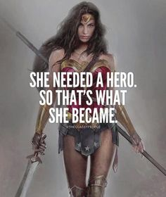 She needed a hero and 50 other great quotes for women. I love that the first of these girl power quotes features Wonder Woman. Fitting for a collection of inspirational quotes from women. Successful Life Quotes, Successful Women, Success Quotes, Wonder Woman Quotes, Plus Belle Citation, Motivational Quotes, Inspirational Quotes, Strong Women Quotes, Empowering Women Quotes