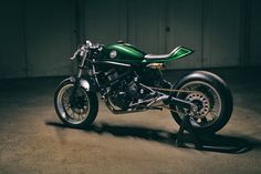For Motorcycle fans: Accurate Description - Kawasaki Vulcan Cafe Racer Click to read more about