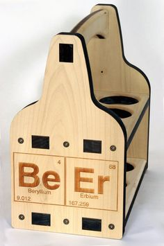 BeEr CaDdy WOODEN Beer Tote CRAFT BeEr Lovers BOAT от g3studios