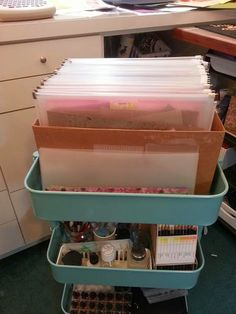 21 Ways to Use Your Raskog Cart To Organize Your Scrapbook Supplies – Eternally Inspired Mama