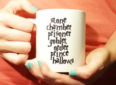 Stone Chamber Prisoner Goblet Order Prince Hallows (Always) - Ceramic Mug - Harry Potter Mug