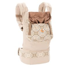 Ergobaby Organic Ergo Baby Carrier - Taupe/Lattice | Baby www.duematernity.com