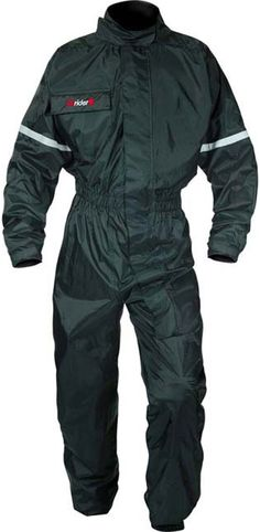 DRIRIDER HURRICANE WATERPROOF RAIN SUIT BLACK