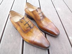 #Bespoke Made to Measure #Custom #Hand-painted Men's Dress Shoes  More Fashion at www thedillonmall com
