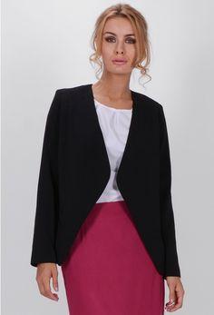 Sacou dama Fiorella Blazer, Sweaters, Jackets, Women, Fashion, Down Jackets, Moda, Fashion Styles, Blazers