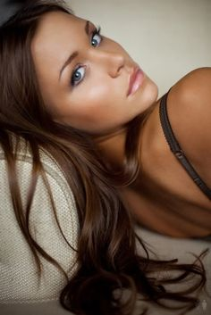 beautiful brunette hair color