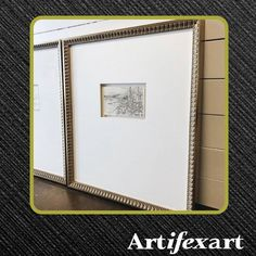 @artifexart posted to Instagram: These huge mats are so stunning on these small sketches . A very creative framing technique.  Created by:📷: thegalleryframeshoppe. Moulding Featured: Senelar Collection Frame
