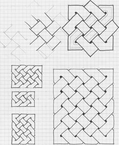 Doodle Patterns 449234131582650437 - Source by Graph Paper Drawings, Graph Paper Art, Zentangle Drawings, Easy Drawings, Blackwork Patterns, Doodle Patterns, Zentangle Patterns, 3d Art Drawing, Geometric Drawing