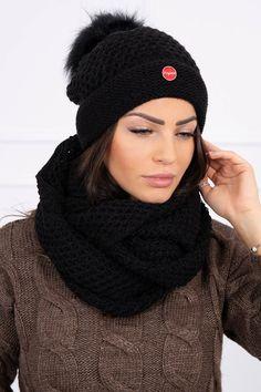 Krásna a moderná čiapka so šálom vo veľkosti UNI Uni, Crochet, Fashion, Moda, Crochet Crop Top, Chrochet, Fasion, Crocheting, Knits