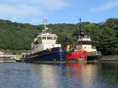 Cannis Tug Fowey | Cornwall Seamen Fishing Town Harbour Boats Mooring | The Cormorant Hotel & Restaurant Luxury Boutique
