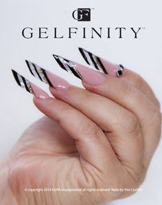 Gelfinity hard gel products by Kupa Inc. This is the edge nail by Yire! @yirecastillo www.kupainc.com