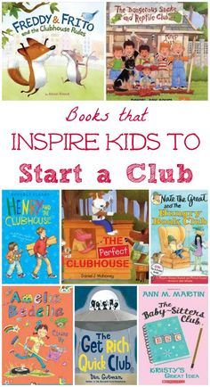 Books to read in your club & fort this summer - fun idea for outdoor story time with kids! Picture books and chapter books about forts, clubhouses and kids' clubs Kids Learning Activities, Literacy Activities, Summer Activities, Teaching Kids, Preschool Books, Literacy Centers, Teaching Reading, Fun Learning, Best Books List