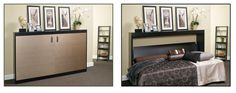 IKEA Hack Murphy Bed | mounting the bed pivots off the wall from the side of the bed ...
