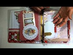 Christmas Paper Bag Mini Albums - YouTube