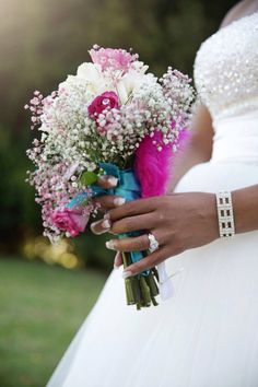 Bridal bouquet by Mimi