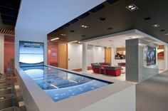 McAfee Amsterdam Offices | Briefing Center | Designed by Project Management Advisors, Inc.