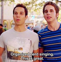 5 Seconds of Summer + Pitch Perfect = Perfection Pitch Perfect 2012, Pitch Perfect Quotes, Pitch Perfect Jesse, Pitch Perfect Movie, Tv Quotes, Movie Quotes, Choir Quotes, John Barrowman, Funny Movies
