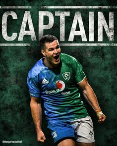 Edit of Leinster and ireland rugby captain Johnny Sexton, Jersey swap style Ireland Rugby, Sports Graphics, Mens Tops, T Shirt, Style, Tee Shirt, Stylus, Tee