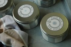 Paste Wax. Chalky wax for furniture