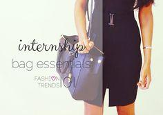 Internship Bag Essentials