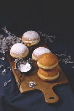 Berliner mit Baileysfüllung/baileys donuts