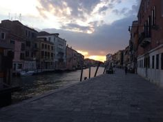 Day 137 (5/17). Off the ship and spending the evening in Venice. So beautiful.