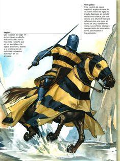 Caballero Cruzado de la caida de Acre, (XIII)