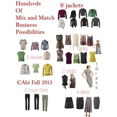 CAbi Fall 2013 Business Attire
