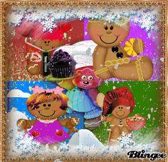 winter gingerbread men and women