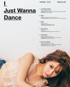 Tiffany《I Just Wanna Dance》曲目表