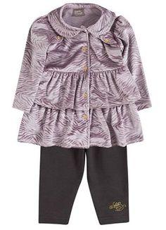 Novidades para as Baby Princesas!  Casaco em plush e legging - nos tamanhos P ao G  Link na loja http://purezababy.com.br/conjunto-casaco-plush-e-legging-brandili-mundi.html