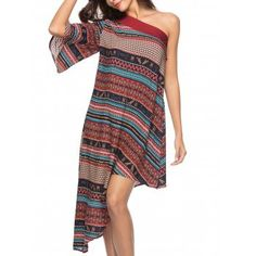 Dress  Bohemian  Dresses  Fashion  Womens  Women  Multi Ethnic Print d197c5799