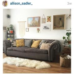 Allison Sadlers pad. Inspiration