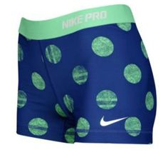 Polka dot nike shorts