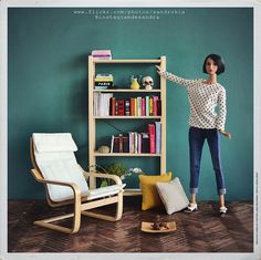 Mini Ikea furniture 1/6.   Flickr - Photo Sharing!
