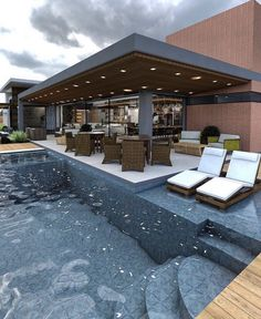 ✔ 42 attractive backyard swimming pool designs ideas for your small backyard 4 architecture-desi. Backyard Pool Designs, Swimming Pools Backyard, Swimming Pool Designs, Backyard Patio, Backyard Landscaping, Landscaping Ideas, Lap Pools, Indoor Pools, Pool Decks