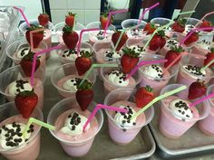 Fruit and Yogurt Smoothies at Stanton Elementary
