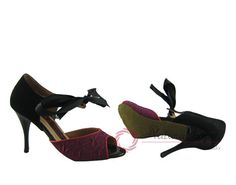 Natural Spin Tango Salsa Shoes/Tango Shoes/Fashion Shoes(Small Open Toe):  T1321
