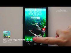 Gran app   http://www.acuaristica.com/blog/2012/03/mete-un-acuario-natural-en-tu-movil-android-y-seras-el-mas-friki-de-los-paisajistas/