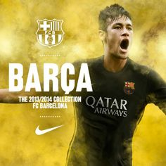 More than a club. More than a shirt. The new #Nike FC #Barcelona 2013/14 Third Jersey is now available to pre-order!