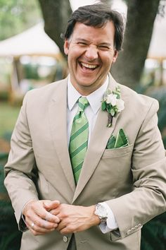 green striped tie | Virgil Bunao #wedding