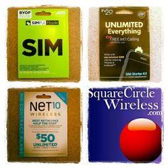Wireless Sim Cards half off on Yagooft Sim Cards half off when you join our service at Square Circle Wireless thru Yagooft AT, T-Mobile, H2O, Simple Mobile, Net10, telcel,Ultra Mobile and more